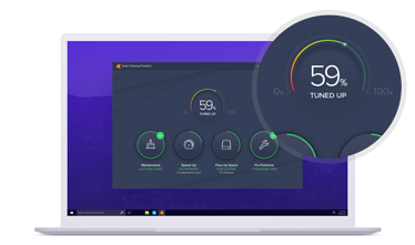 Avast Cleanup optimizes your PC for optimal speed, space, and function.