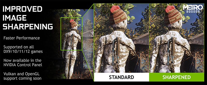 Improved image clarity with an NVIDIA graphics driver update