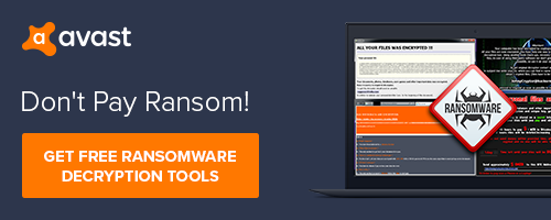 Avast free ransomware decryption keeps your PC and files safe from cybercriminals.