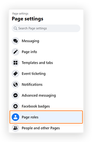 Screenshot of user finding 'Page notes' option from the 'Page Settings' menu