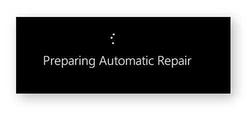 Running automatic repair