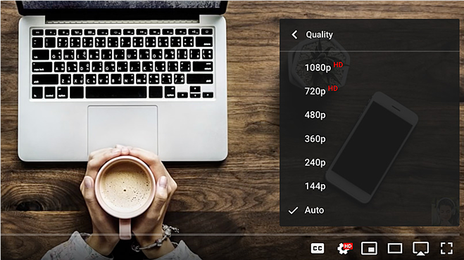 Here's how to adjust the quality level of a streaming video on YouTube.