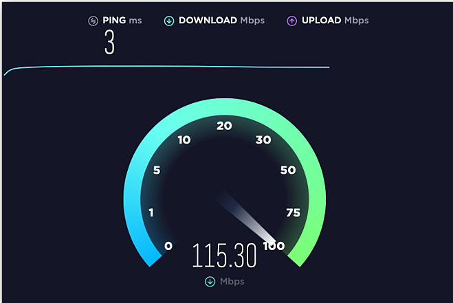 Use this online speed test to find out what the real-time speed of your internet connection is.