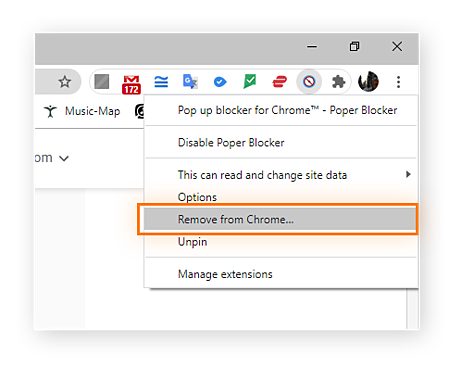 Remove the pop up blocker entirely from Chrome by right clicking the icon