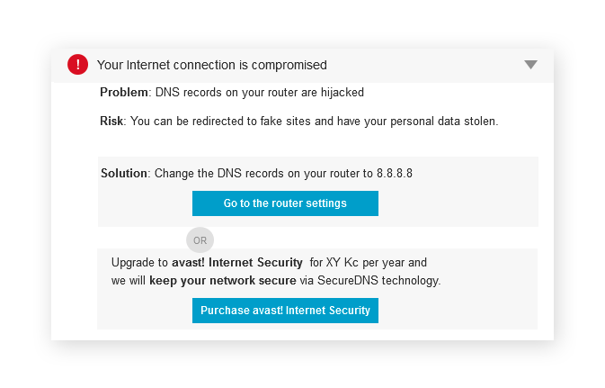 Your WiFi network is not secured