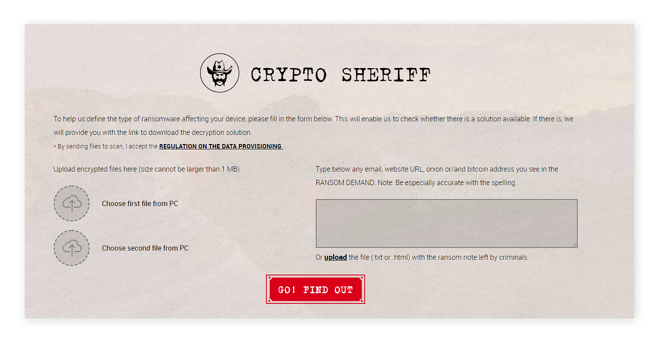 Crypto Sheriff will help find and identify ransomware lurking on your Mac.