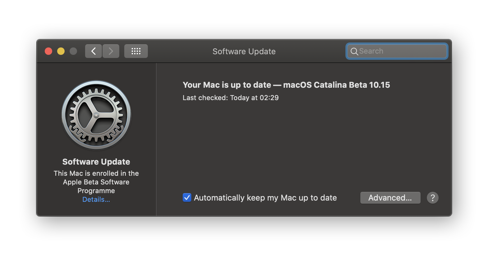 Updating macOS to speed up performance