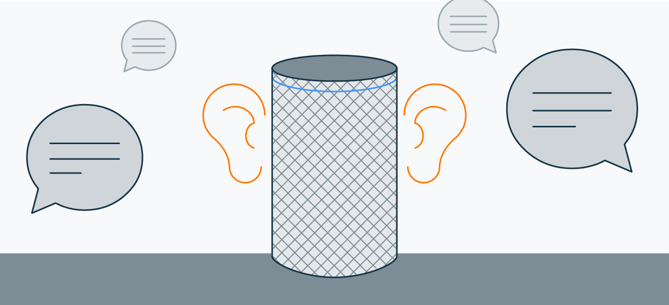Alexa's wake word — or sometimes a word that just sounds similar — triggers recording.