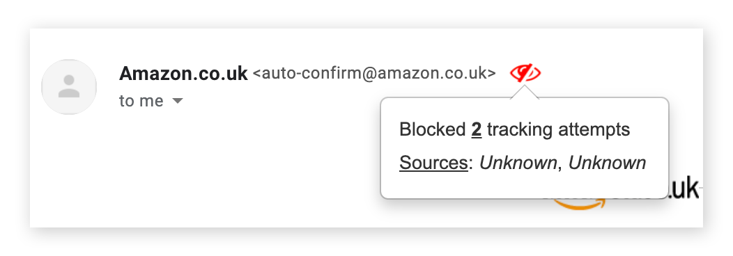 Using PixelBlock to block email trackers in Chrome for macOS