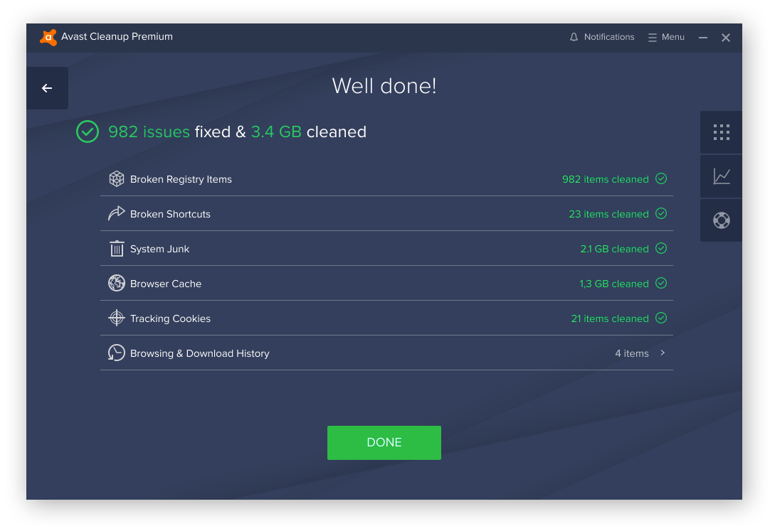 Avast Cleanup is one of the best cleaning software apps for Windows PCs.