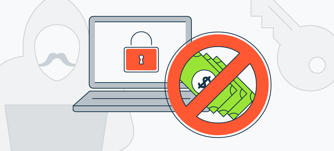 If you get hit with ransomware, don't pay the ransom.
