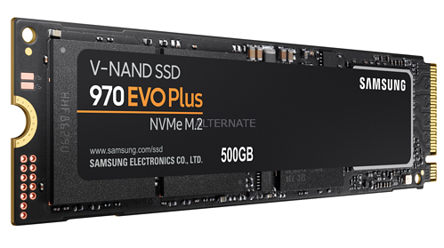 NVME SSD connected through the PCIe interface