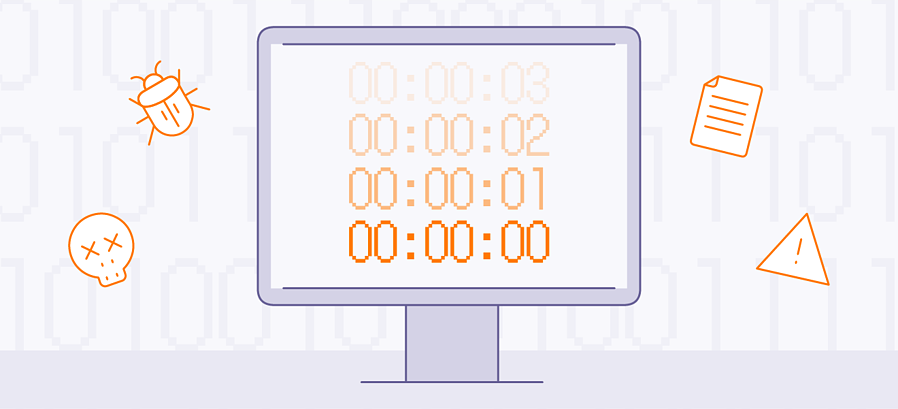 A time bomb is a type of logic bomb that's set to go off at a particular preset time or date.