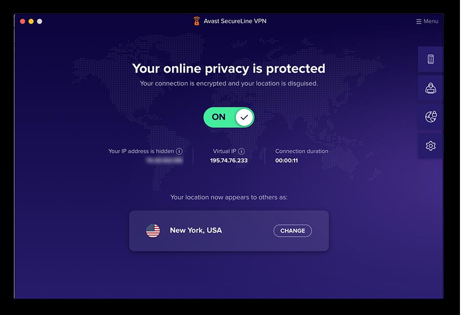 Una buena VPN cifra su conexión a Internet completa cada vez que se conecta.