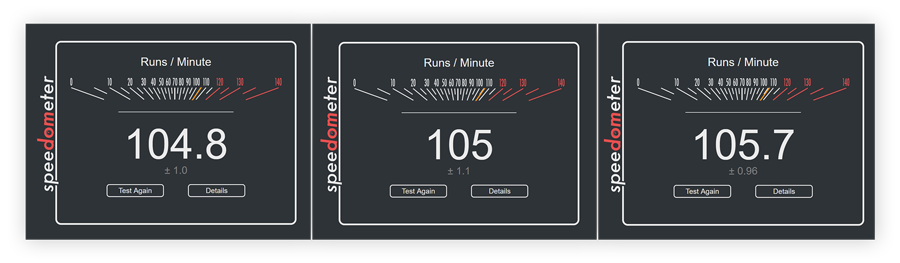 Testing Google Chrome in Speedometer 2.0 by BrowserBench
